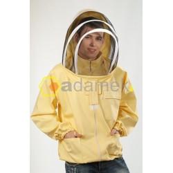 Bluza pszczelarska typu kosmonauty rozpinana