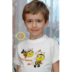 Koszulka dziecięca z pszczółkami