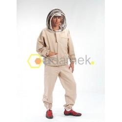 Bluza typu kosmonauty z czapeczką
